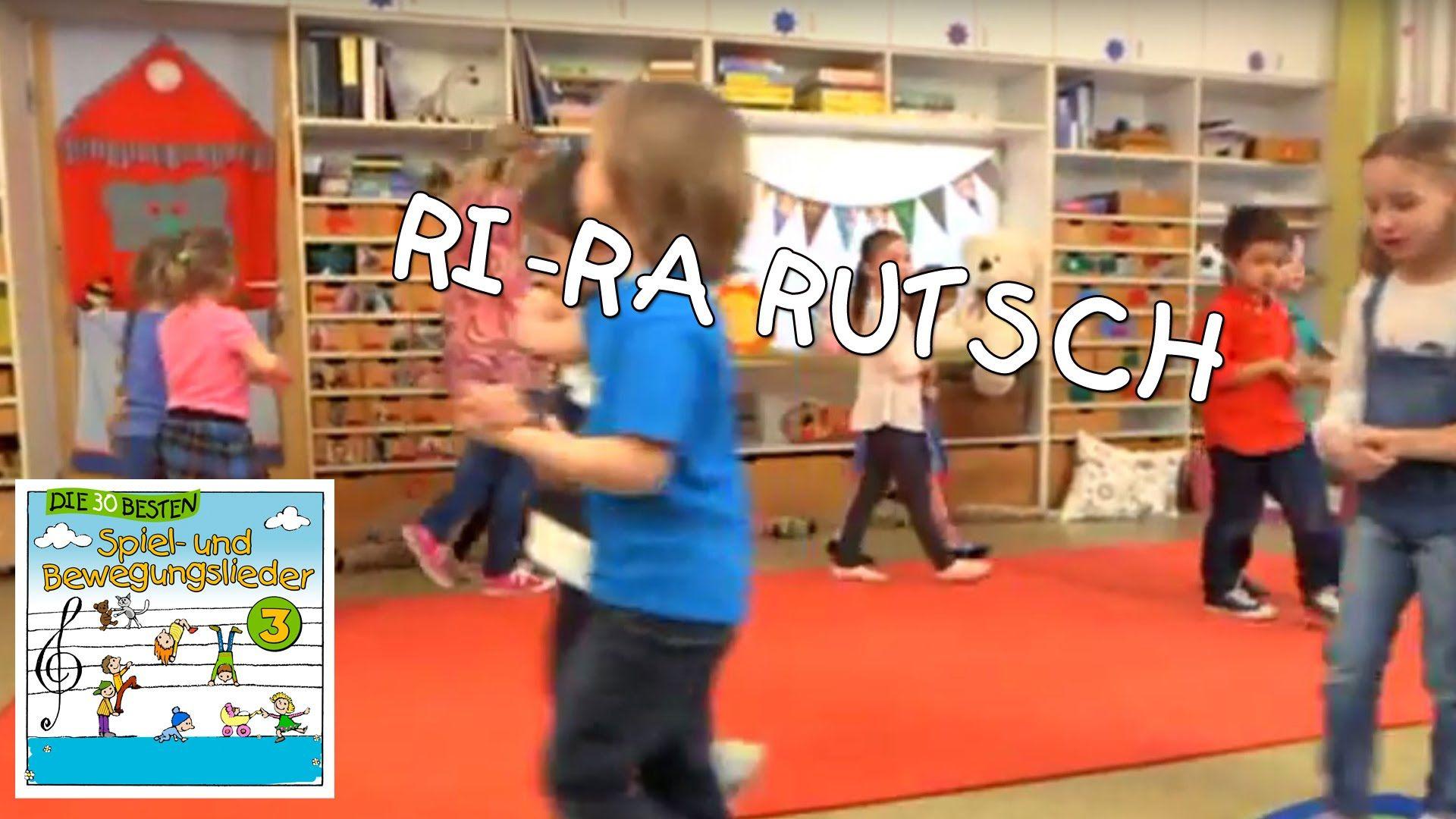 Ri-Ra Rutsch - Singen, Tanzen und Bewegen || Kinderlieder