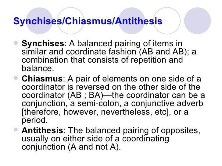 Synchises; Chiasmus; Antithesis Academic Writing Pinterest - webmaster job description