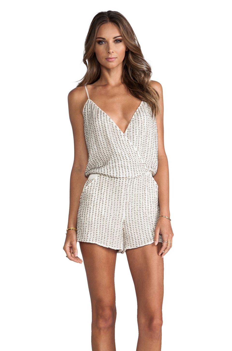 Parker sequin Romper REVOLVE clothing SOLITAIRE STYLE