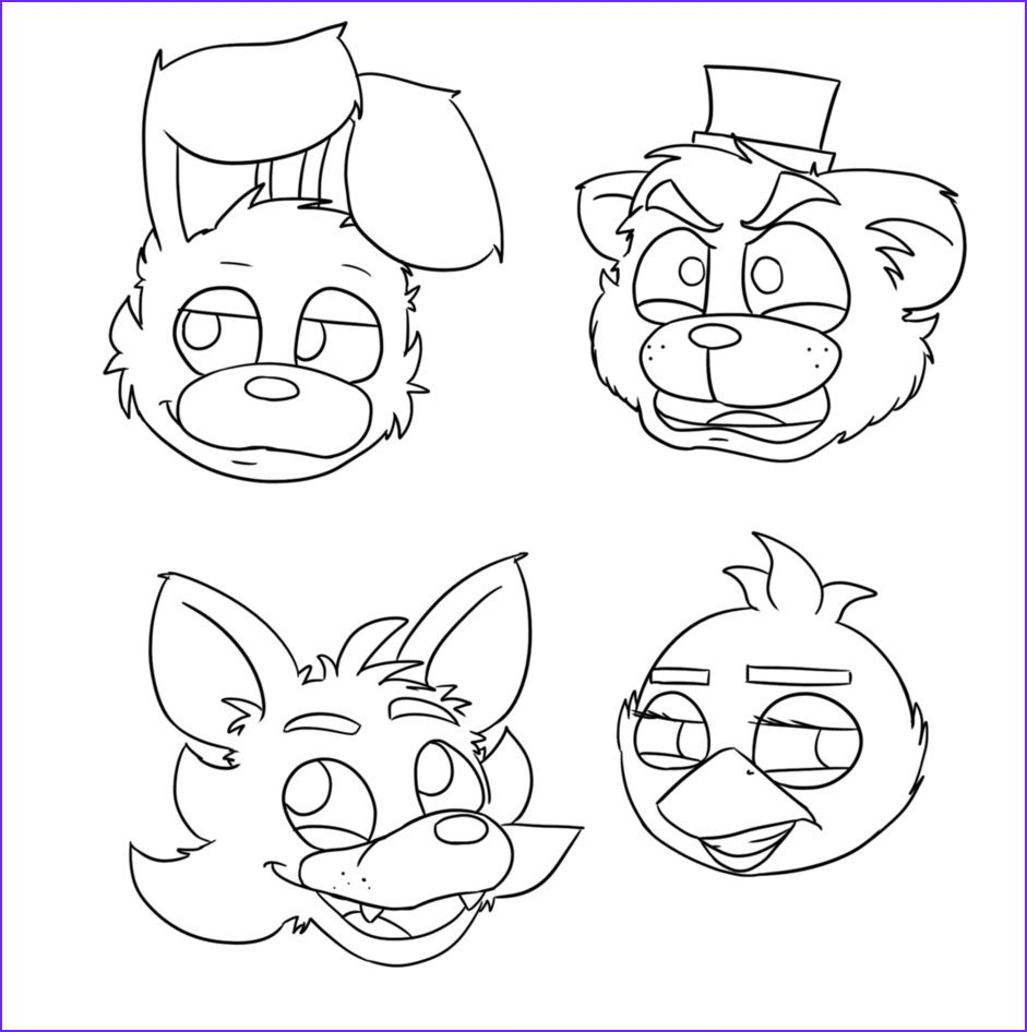 fnaf coloring pages 6   Fnaf coloring pages, Minion ...