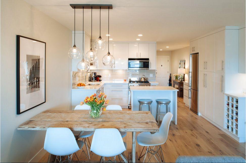 Disfruta de un comedor peque o dentro de tu cocina - Cocinas comedor modernas ...
