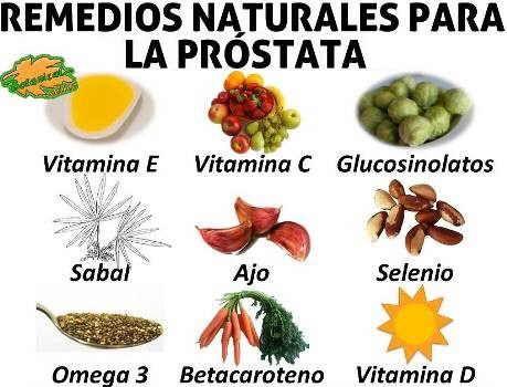 bastones prostatitis remedios naturales
