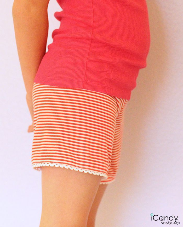 Knit Shorts with free pattern - so super cute!!! iCandy Handmade ...