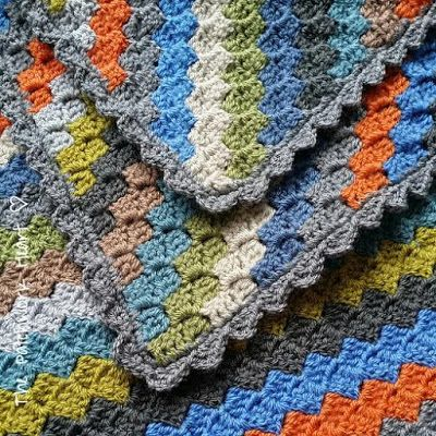The Patchwork Heart: Corner to Corner Blanket | Steekjes & Stokjes ...