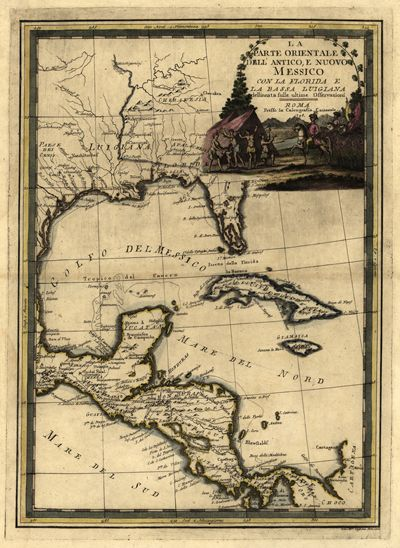 the Caribbean Sea... | Nautical Notions and Oceans | America, Map ...