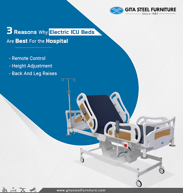 3 Reasons Why Electric ICU Beds Are Best For The Hospital 침대