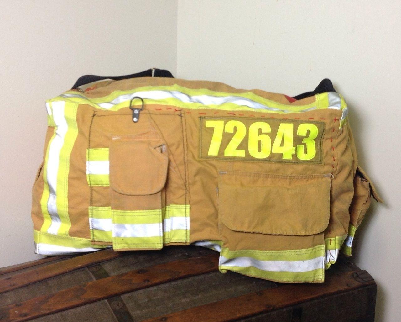 Recycled bunker gear bags - Firefighter Turnout Bags By Niki Rasor Dublin Duffle 260 00 Http
