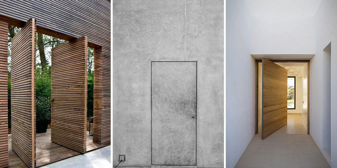 How to Detail a Perfectly Seamless Door Hidden door