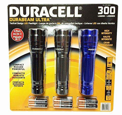 Duracell Durabeam Ultra 300 Lumens Tactical High Intensity Compact