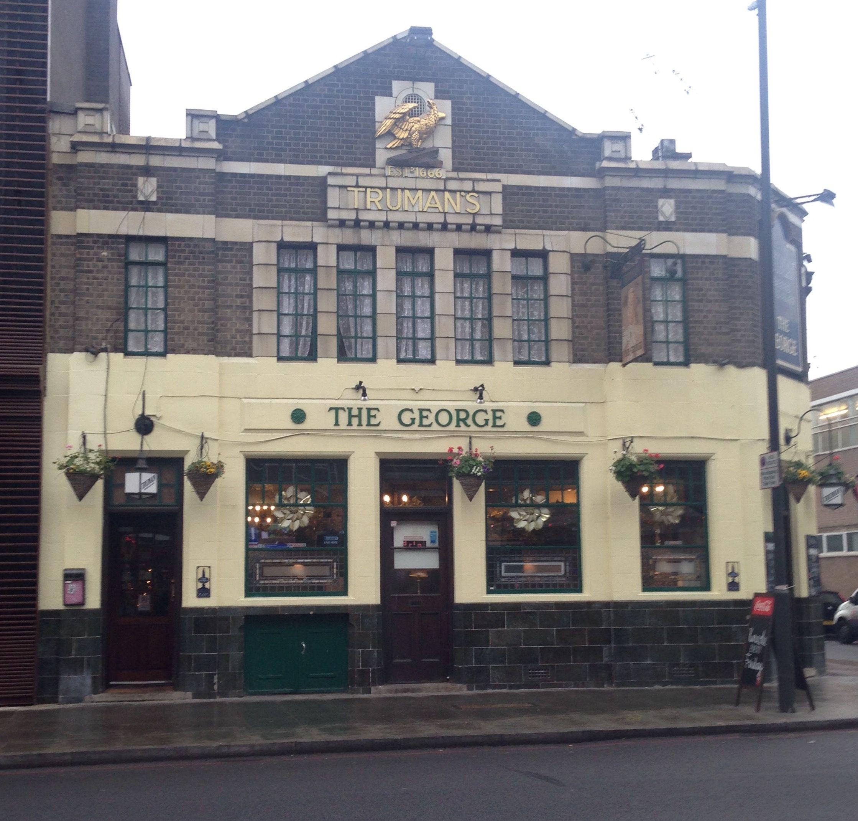The George pub, Borough, London - Dec 2016.