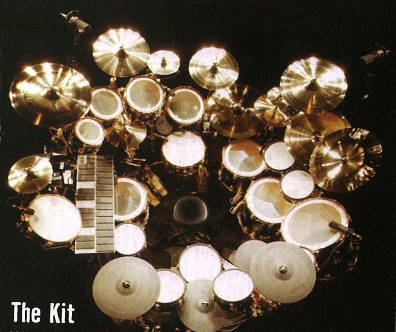 A Rare Article From The Rush Transcript Archive Chronicling History Of Geddy Lee Alex Lifeson And Neil Peart Kit Drum