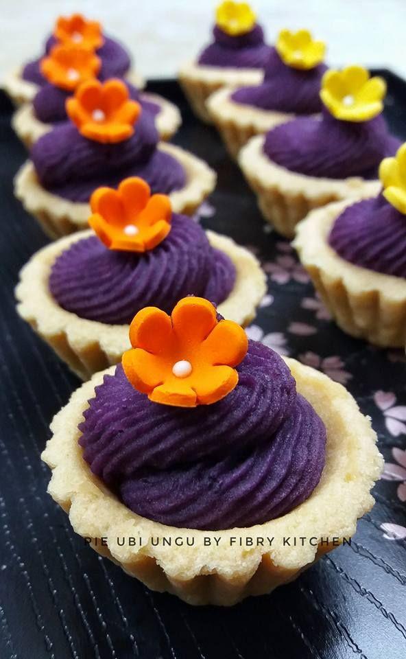 Pie Mini Filling Ubi Ungu By Fibry Kitchen Jepun Langsungenak Com Resep Makanan Resep Kue Mangkok Makanan Manis