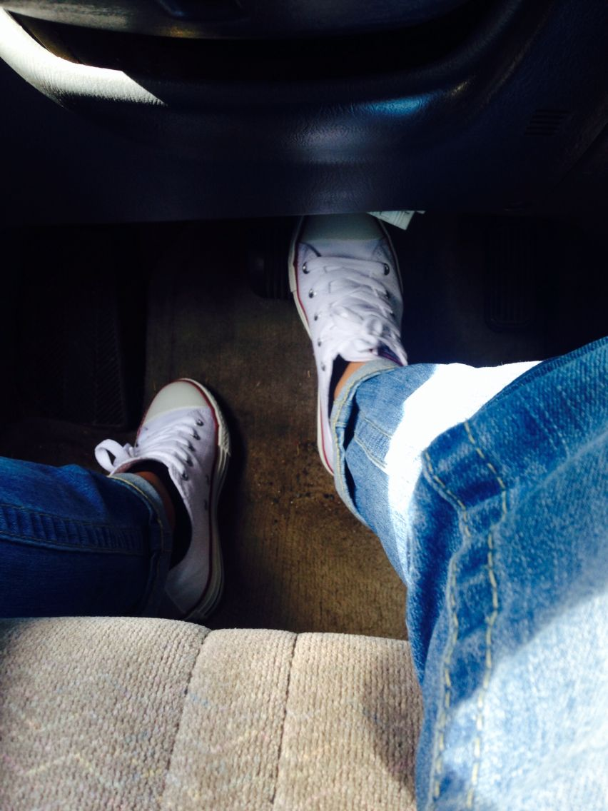Converse. Red. White. Blue.
