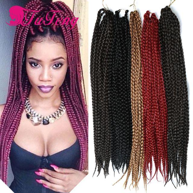 box braids hair ombre expression braiding hair senegalese ...