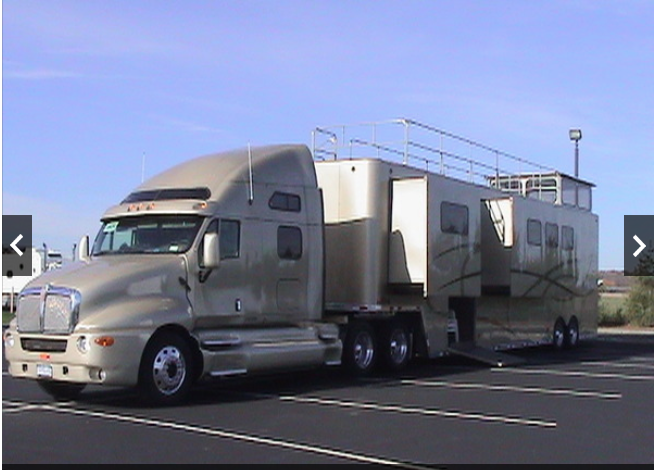 Triple Slide Hospitality Living Quarters Semi Awesome Unit Horse Trailer Diesel Generators The Unit