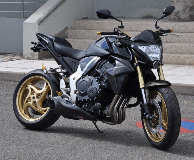 2008 2012 Honda CB1000R Exhaust Kit Race Taylor Made Weight Savings 19 Lbs Horse