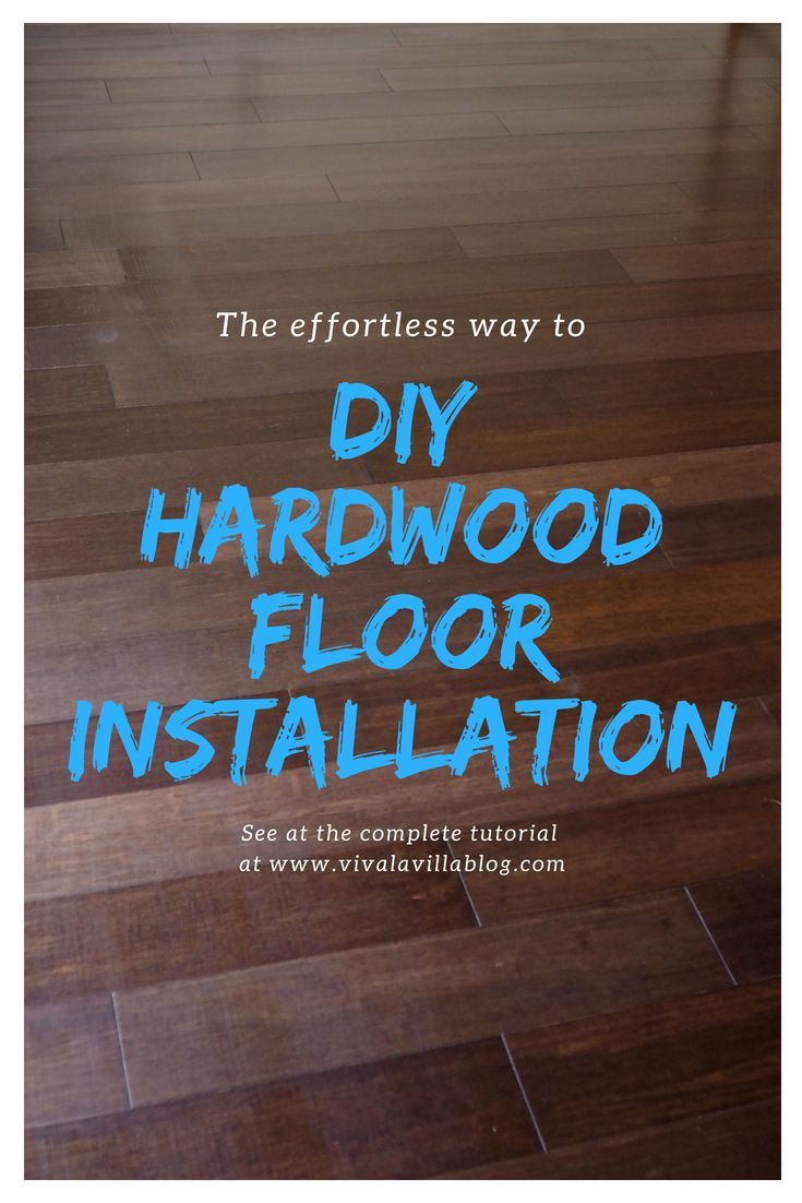 Beginner tutorial diy bamboo click u lock flooring installation