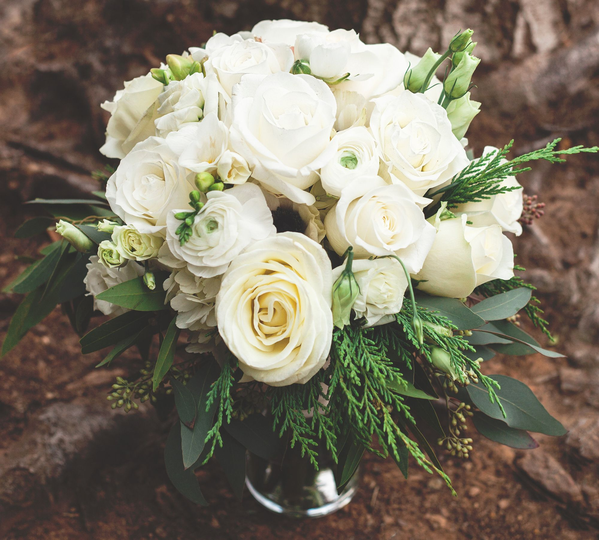 Floral design the flower cupboard in cary nc winter white floral design the flower cupboard in cary nc winter white wedding bouquet mightylinksfo