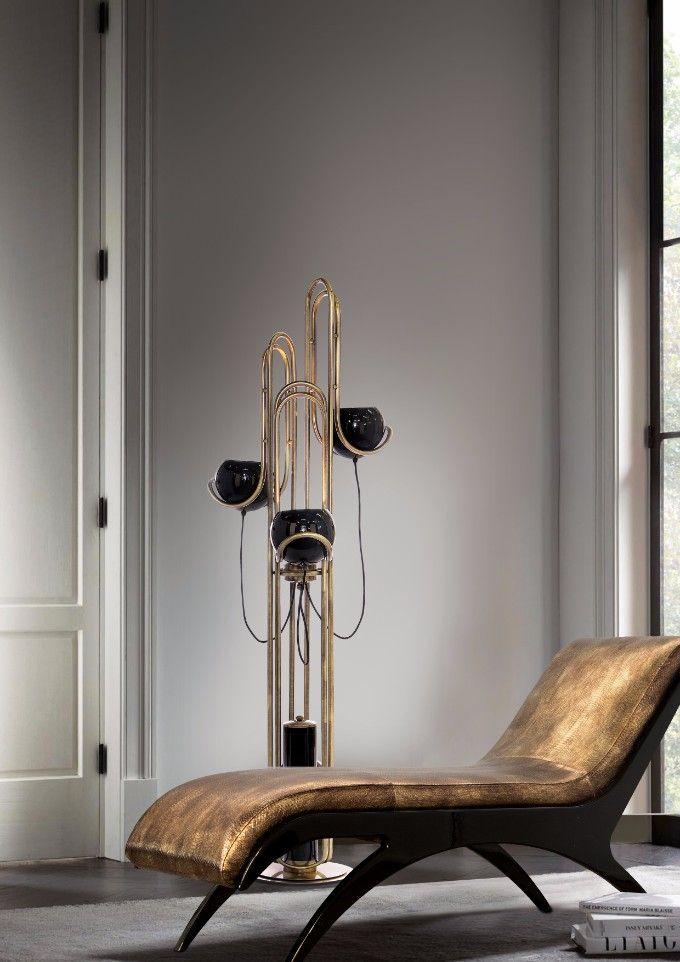 Erstaunliche Wohndesign-Ideen und wie Sie Stehlampen in Ihrem Wohnzimmer Design hinfügen.