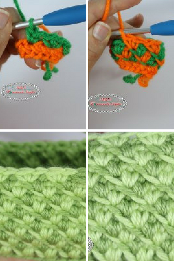 Learn A New Crochet Stitch: Turkish Star Stitch   Patrones, Puntadas ...