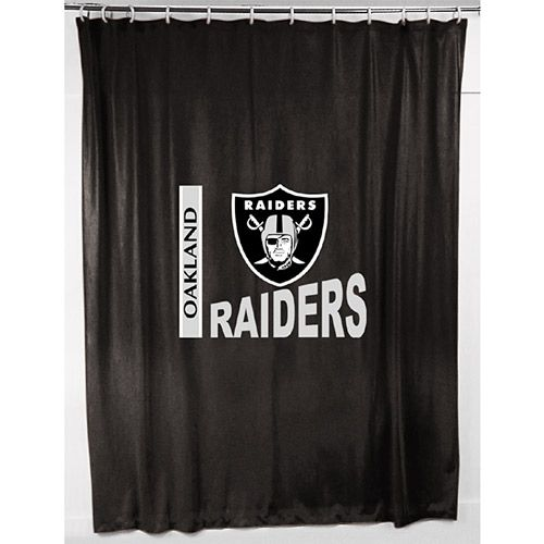 Oakland Raiders Shower Curtain Oakland Raiders Oakland Raiders Football Oakland Raiders Hat