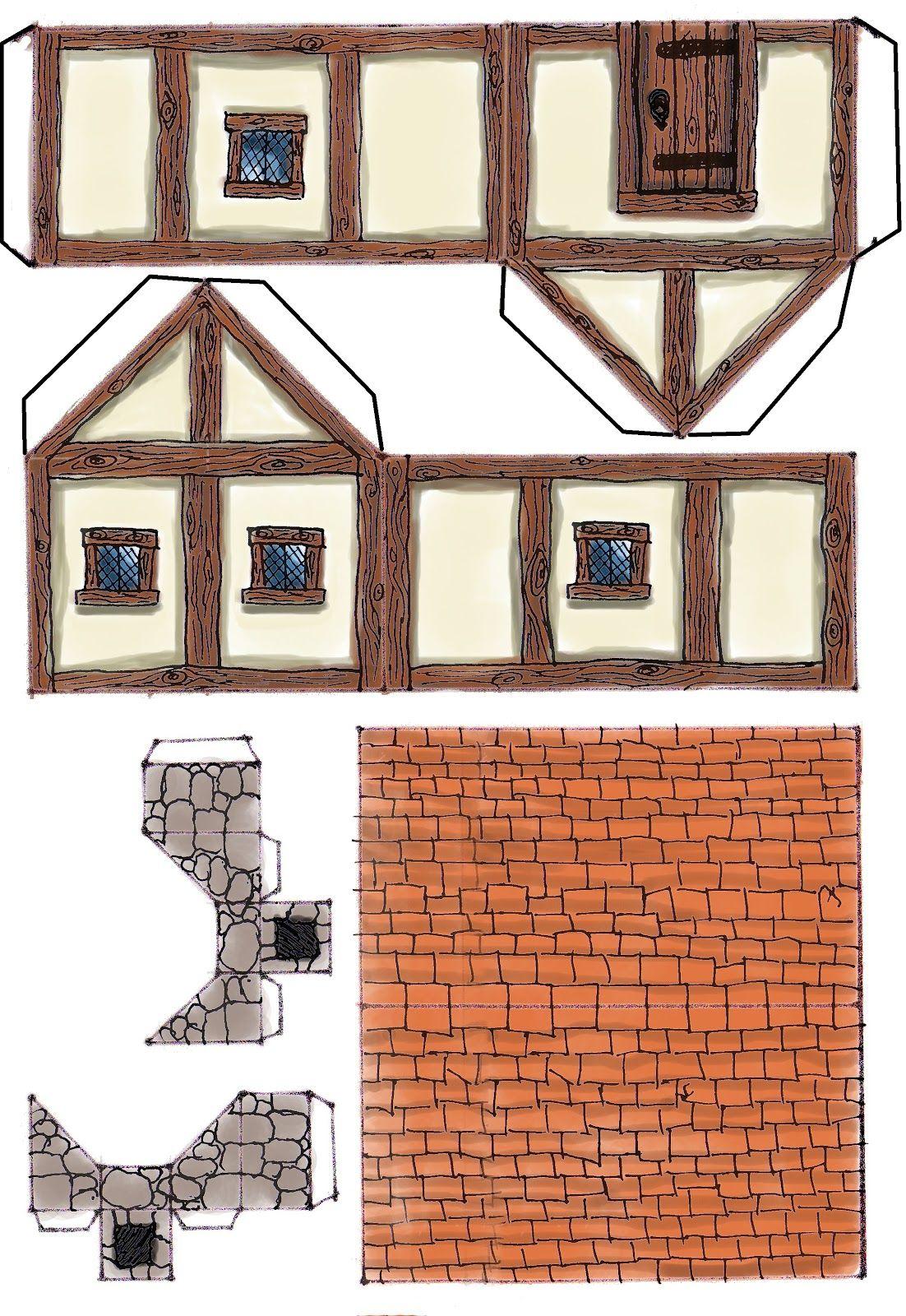 Картинки объемного дома москве