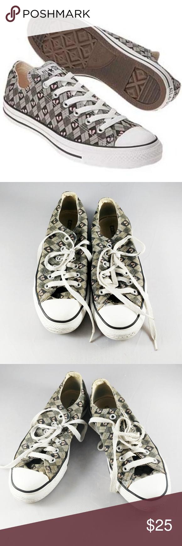 9c9816985850ec Converse all star broken heart low top sneakers BRAND  Converse SIZE  W 7  FLAW