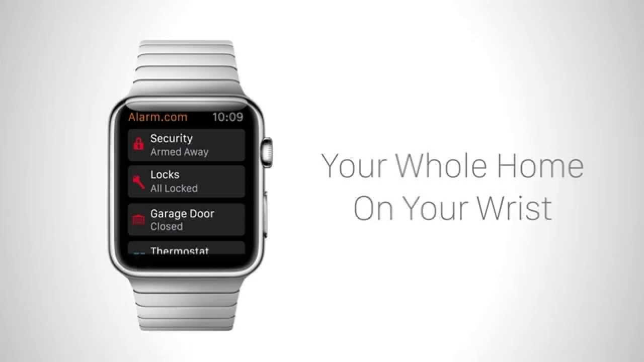 Youtube Apple Watch Smart Home Security Apple Watch Apps