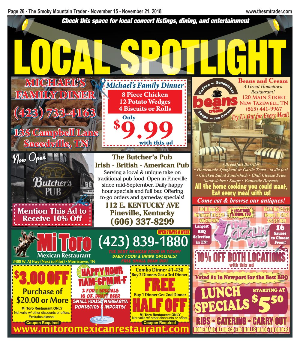277ec42a569 Check out our Local Spotlight  1 found on page 26 of the November 15 ...