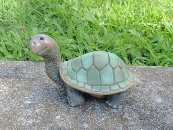 Cute Ceramic Turtle By Teresasceramics On Etsy 12 00 Via Etsy Ceramic Turtle Turtle Painting Turtle