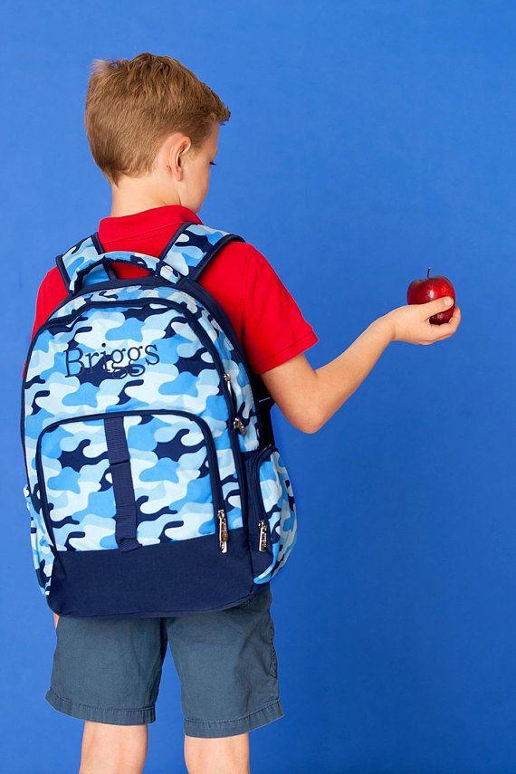 Monogrammed Backpack-Personalized Backpack-Cool Camo Backpack-Boys Backpack- Back To School-Camo Back 9509d8824d710