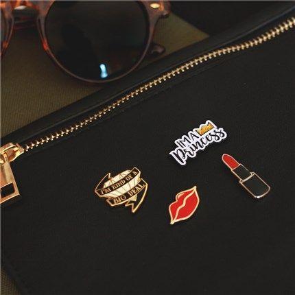 PinMart Cool Sun with Sunglasses Summer Enamel Lapel Pin