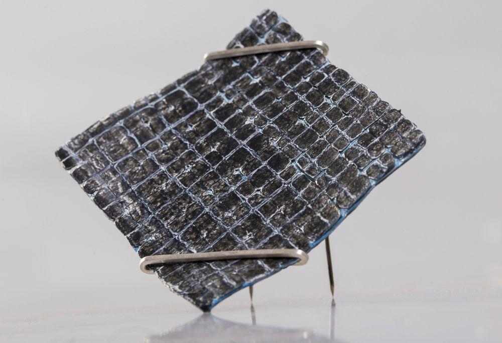 Mario Albrecht mario albrecht brooch untitled 2017 polyethylene plastic bags