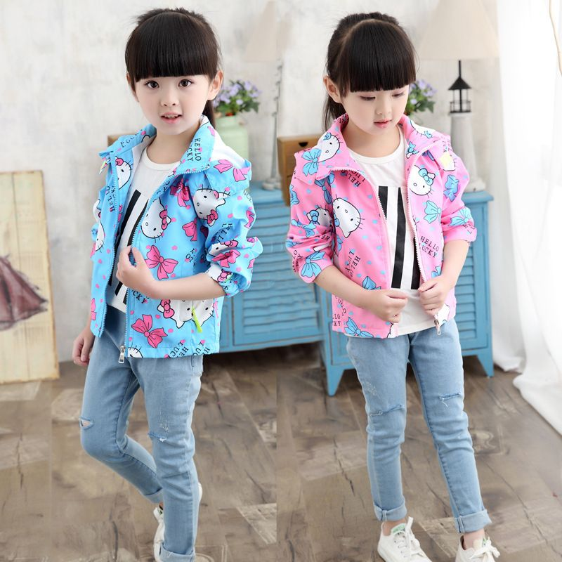 e1e091553fc2 Click to Buy    kids girls jacket 2016 new spring autumn toddler ...