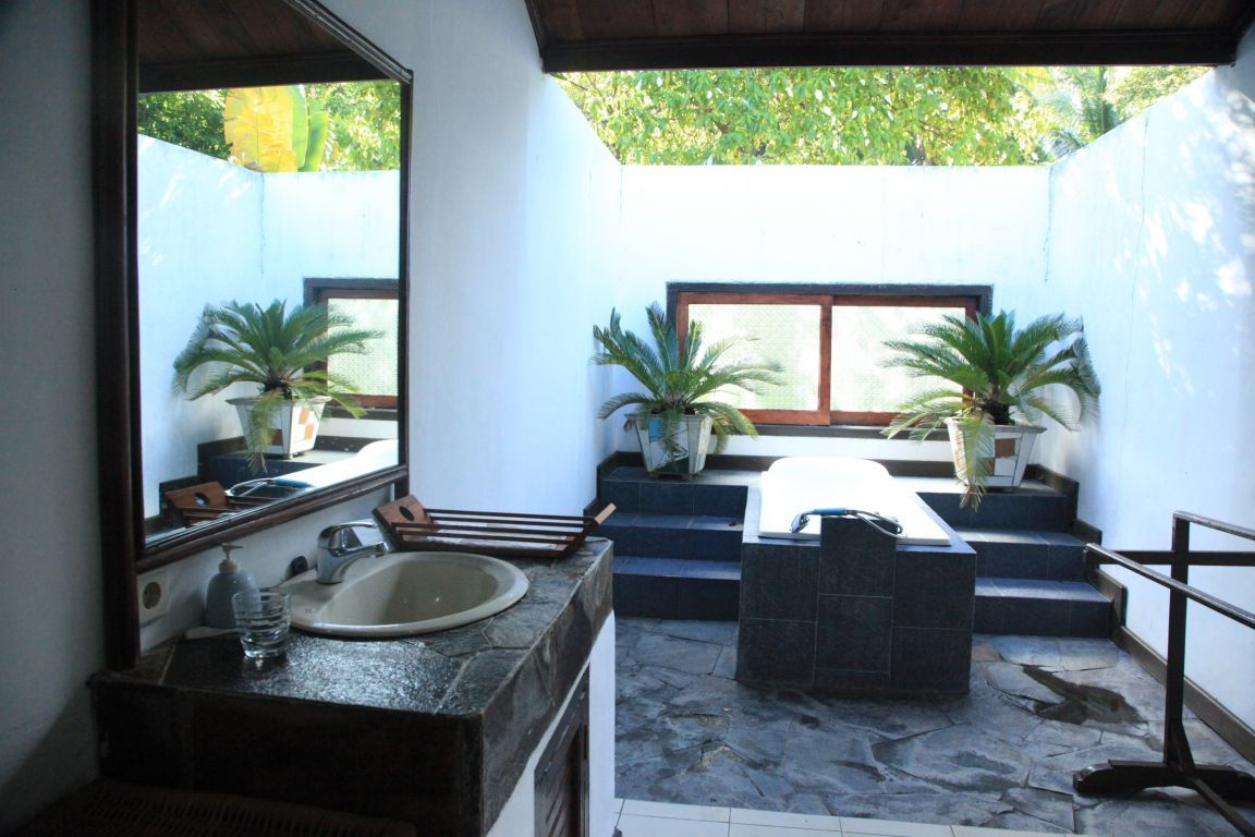 Our outdoor bathroom with jacuzzi tub on inspiring outdoor
