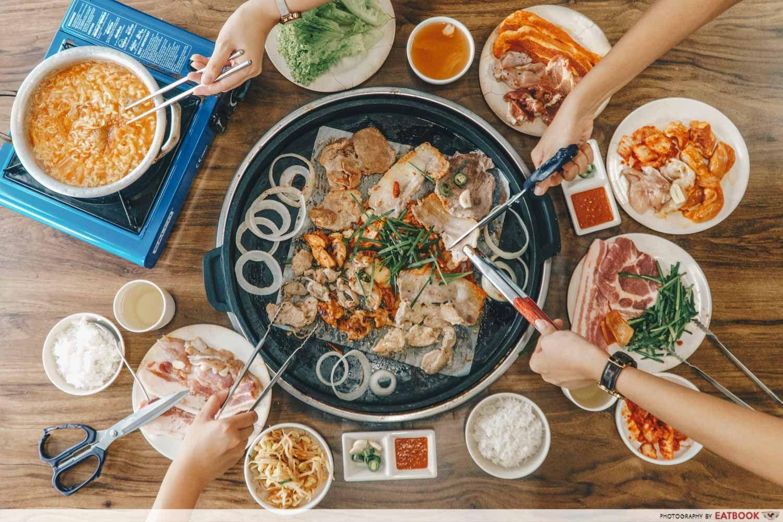 11 Best Korean Bbq Restaurants In Singapore Seoulgood It Feels Like You Are In Korea Korean Bbq Restaurant Best Korean Bbq Korean Bbq Buffet