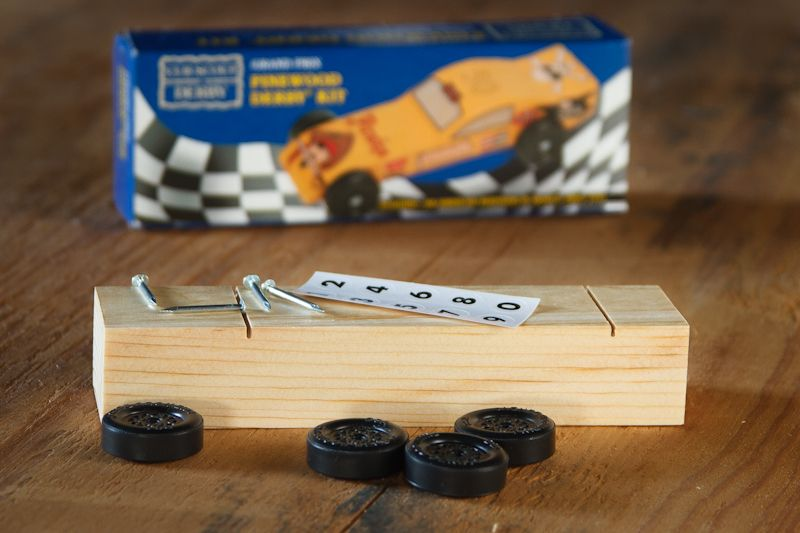 It's Pinewood Derby time
