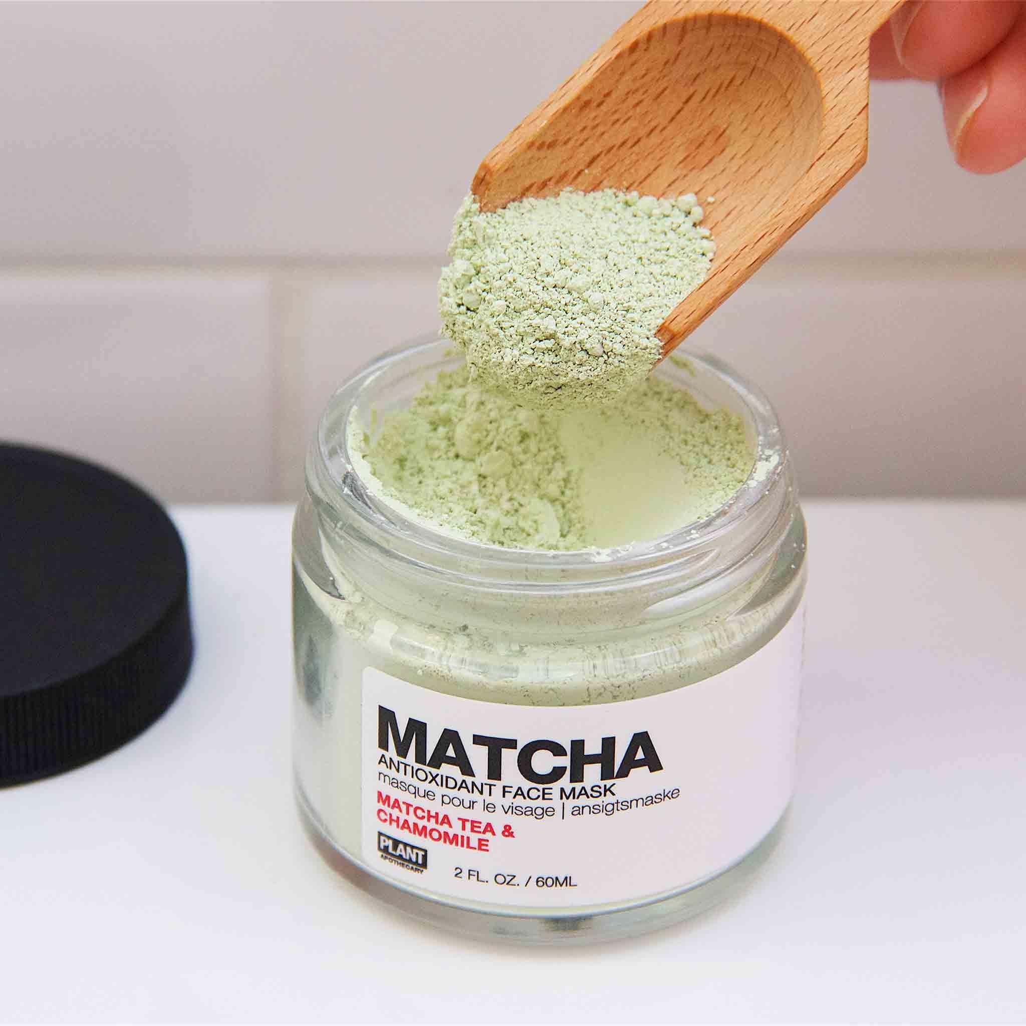 Photo of Plant Apothecary – MATCHA Antioxidant Face Mask