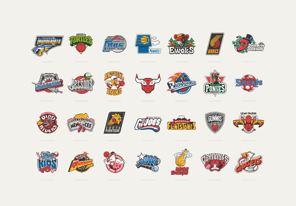 Vanila_lab Nba teams, Graphic design fonts, Logo basketball