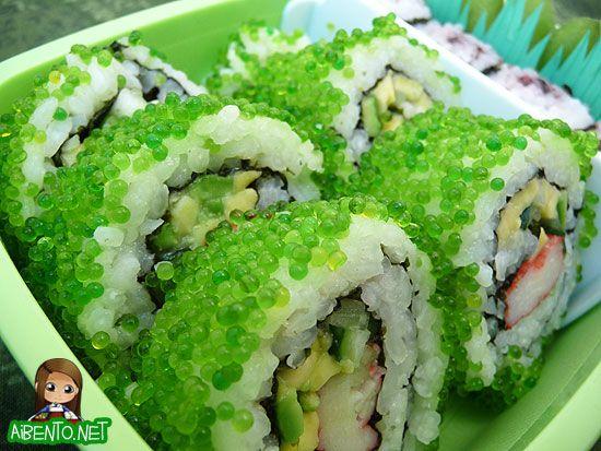 St. Patrick's Day Sushi