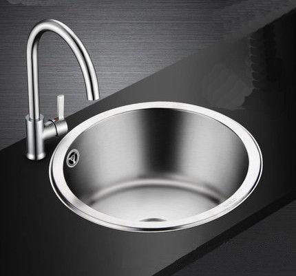 Stainless Steel Kitchen Round Sink 15869 Stainless Steel Kitchen Sink Round Sink Sink