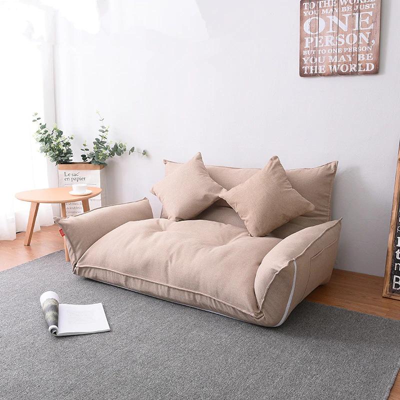 216 98 20 De Reduction Meubles De Sol Inclinable Futon Japonais Canape Lit Moderne Pliant Reglable Dormeur Chaise Longue Incl In 2020 Furniture Home Decor Floor Chair