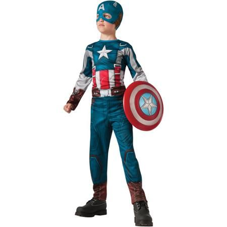 Captain America 2 Retro Classic Child Halloween Costume