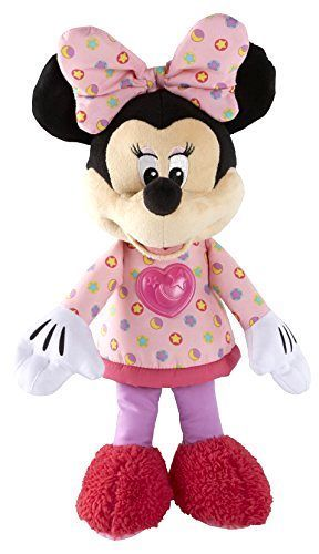 Toddler Toys Fisher-Price Disney Minnie Mouse Goodnight Hugs Toy Baby Xmas Gift #FisherPrice