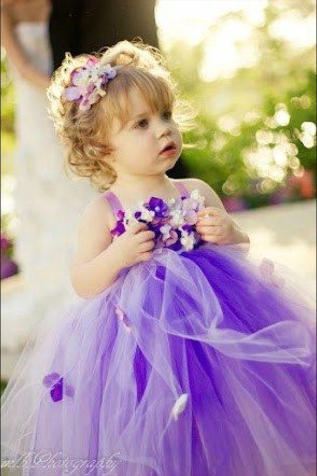 Flower Girl Dress | Weddings!! | Pinterest | Vestidos de niñas ...