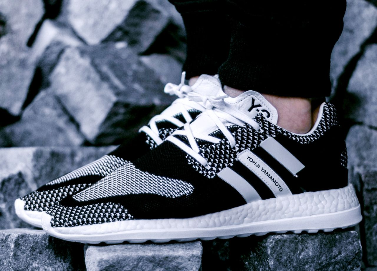 e01815a79 adidas y 3 pure boost uk black and purple shoes