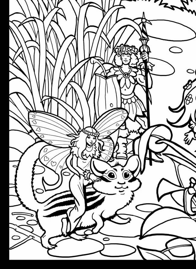 Perfect Large Coloring Book 74 Wele to Dover Publications