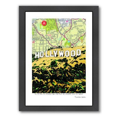Americanflat Hollywood Sign by Lyn Nance Sasser and Stephen Sasser ...