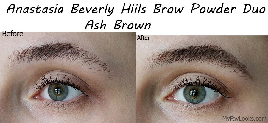Anastasia Beverly Hills Brow Powder Duo In Ash Brown Review