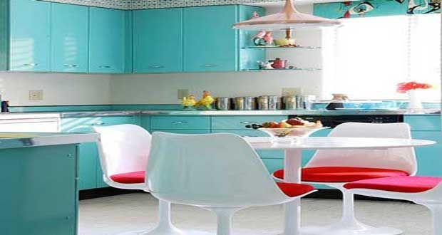 Peinture ultra solide pour repeindre ses meubles de cuisine - meuble en bois repeint